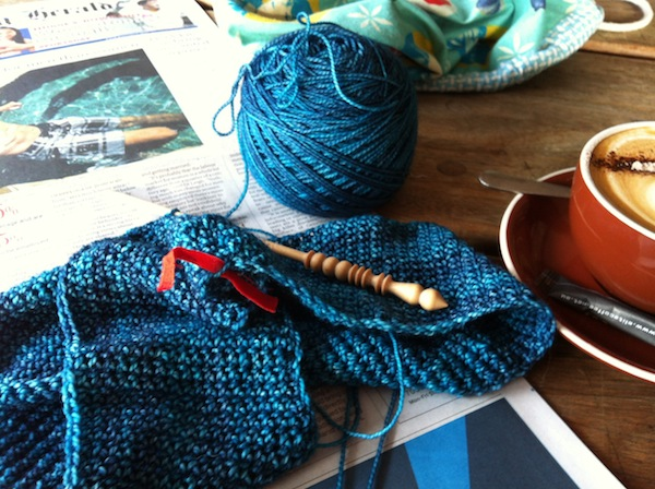 Crochet and coffee